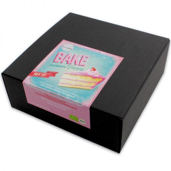 """Geschenkbox  """"Bake someone happy"""""""