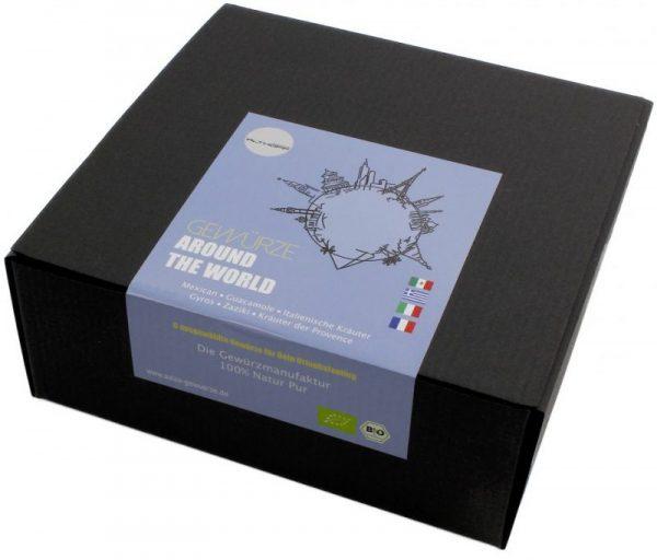 """Geschenkbox """"Around the world"""""""