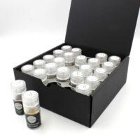 24 Salzsorten in einer Box