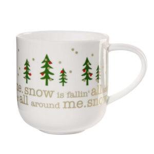"""Henkelbecher """"Let it snow"""""""